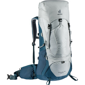 deuter Aircontact Lite 40 + 10 Backpack, Plateado/azul